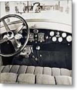 Car Radio, C1940 Metal Print