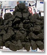 Carbon Trading, Conceptual Image Metal Print