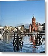 Cardiff Bay Panorama Metal Print