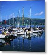 Carlingford Yacht Marina, Co Louth Metal Print