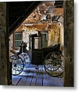 Carriage House Metal Print