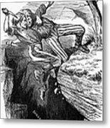 Cartoon: Civil War, 1862 Metal Print