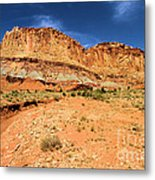 Castles In The Sky Metal Print
