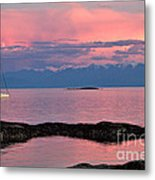 Cattle Point And The Strait Of Juan De Fuca Metal Print