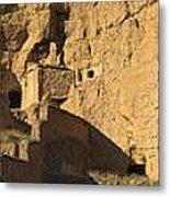 Cave Dwellings Metal Print