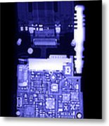 Cell Phone Metal Print