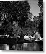 Cemetery Natchez Mississippi Metal Print