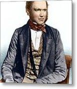Charles Darwin, British Naturalist Metal Print