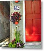 Charleston Home Series Metal Print by Wendy Mogul