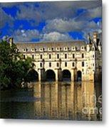 Chateau Chenonceau Metal Print