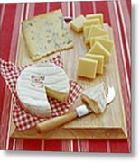 Cheese Selection Metal Print