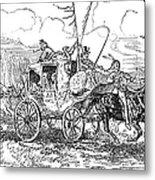 Chief Joseph (1840-1904) Metal Print by Granger
