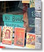 Chinese Bookstore Metal Print