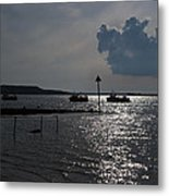 Christchurch Harbour Viewed From Mudeford Metal Print