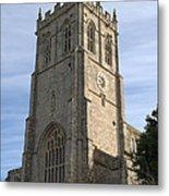 Christchurch Priory Bell Tower Metal Print