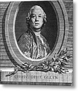 Christoph Willibald Gluck Metal Print