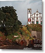 Church By The Sea Metal Print by Gaspar Avila