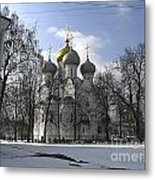 Churches Russia Metal Print