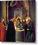 Circumcision Of Christ Metal Print