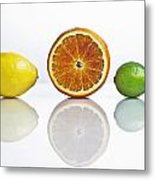 Citrus Fruits Metal Print by Joana Kruse