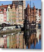 City Of Gdansk Metal Print