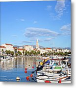 City Of Split In Croatia Metal Print