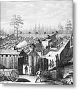 Civil War: Prison, 1864 Metal Print