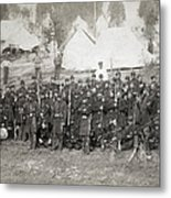 Civil War: Union Troops Metal Print