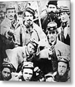 Civil War Volunteers 1861 Metal Print