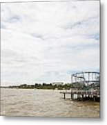 Clacton Pier Metal Print
