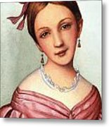 Clara Schumann (1819-1896) Metal Print
