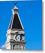 Clarksville Historic Courthouse Tower Metal Print