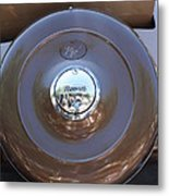 Classic Antique Plymouth - Detail Metal Print