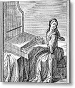 Clavicytherium, 1723 Metal Print