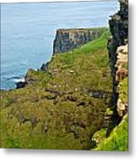 Cliff Of Moher 16 Metal Print