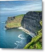 Cliff Of Moher 31 Metal Print