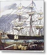 Clipper Ship, 1851 Metal Print