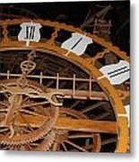 Clock Work Metal Print