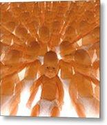 Cloned Babies Metal Print