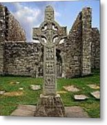 Clonmacnoise, Co. Offaly, Ireland Metal Print