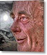 Close-up Profile Robert John K. Metal Print