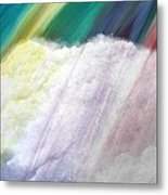Cloud Within Rainbow Metal Print