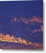 Clouds At Sunrise Metal Print