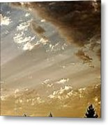 Clouds Of A Storm Metal Print