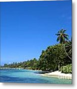 Coast Of Indian Ocean Metal Print