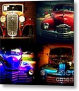 Collector Cars Metal Print