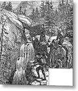 Colorado: Pikes Peak, 1867 Metal Print