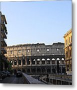 Colosseum Early Morning  Metal Print