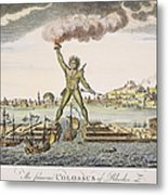 Colossus Of Rhodes Metal Print by Granger