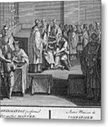 Confirmation, 18th Century Metal Print